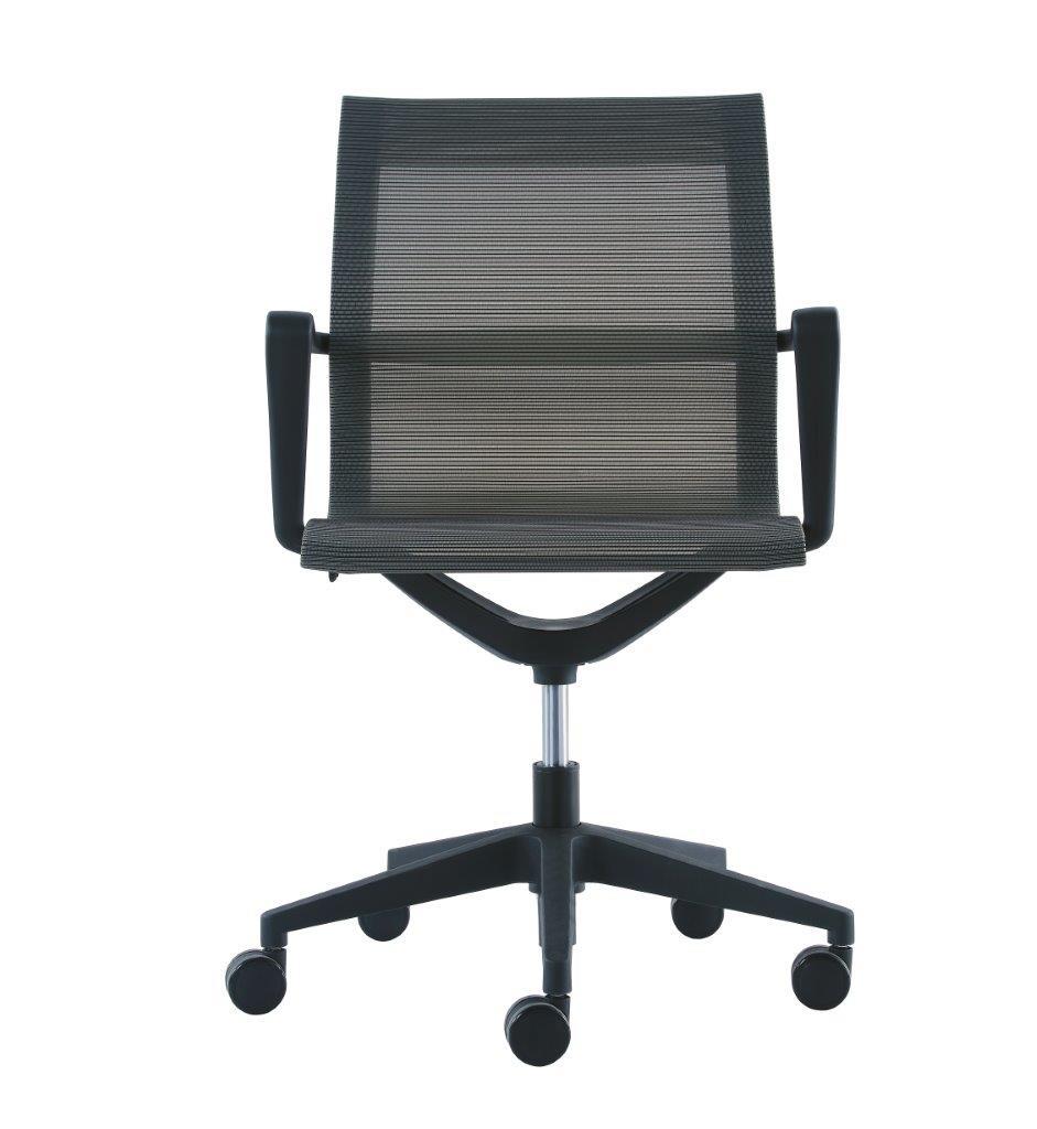 """23.8"""" x 20.8"""" x 35.8"""" Charcoal Mesh Flex Tilt Chair"""