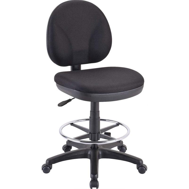 "20"" x 24"" x 41"" Black Fabric Chair"