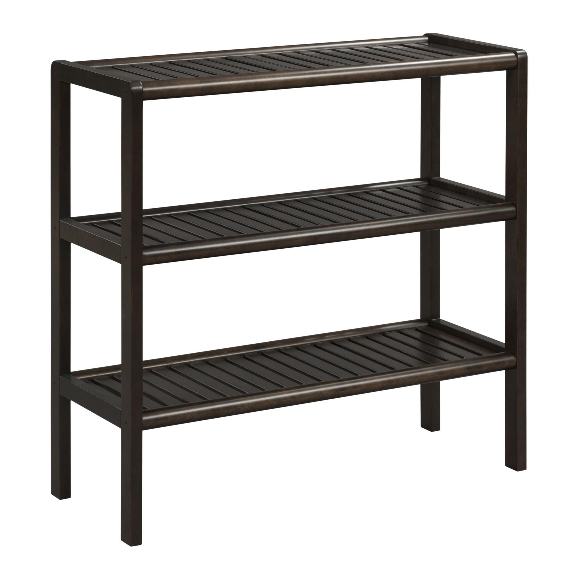 "30"" Bookcase with 3 Shelves in Espresso"
