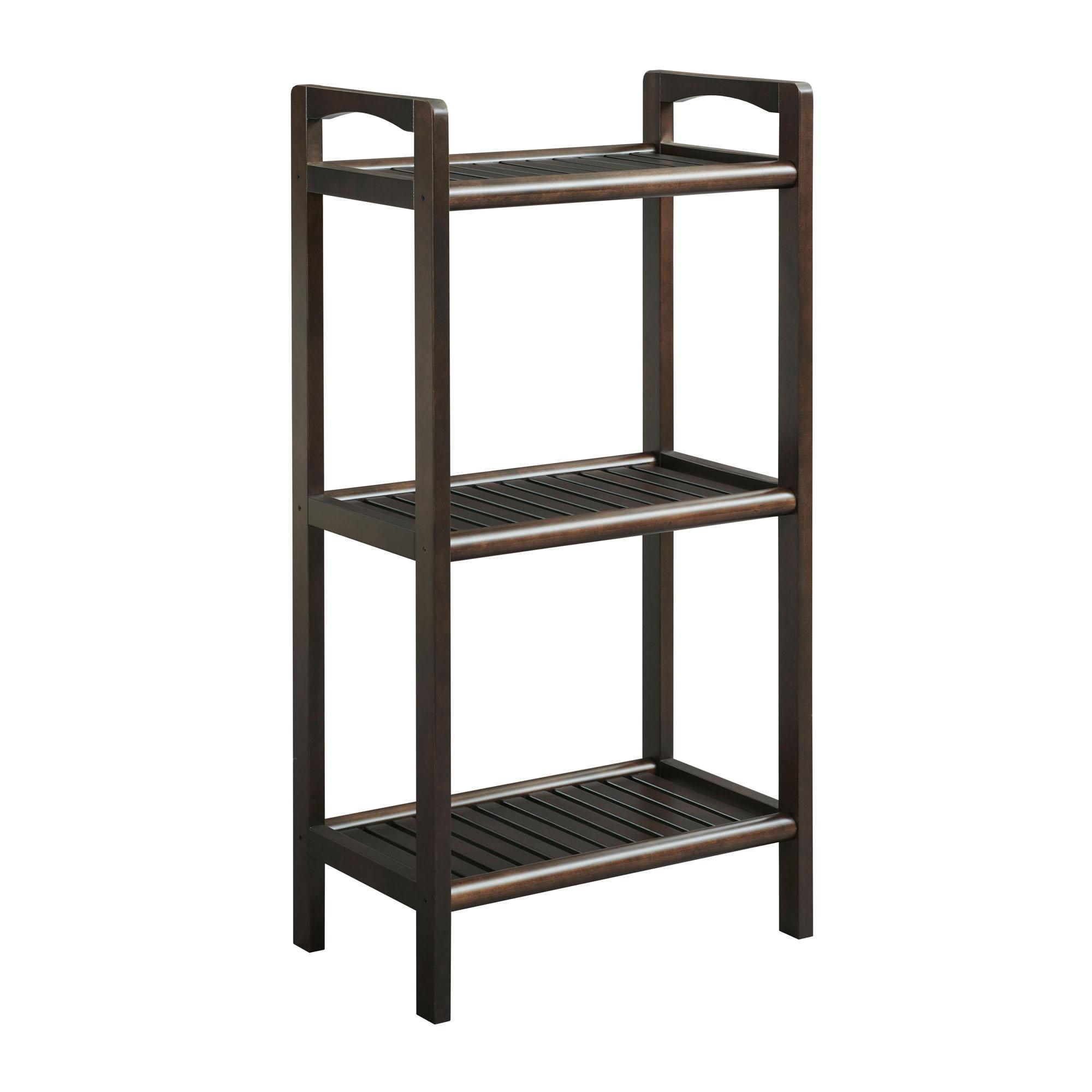 "46"" Bookcase with 3 Shelves in Espresso"