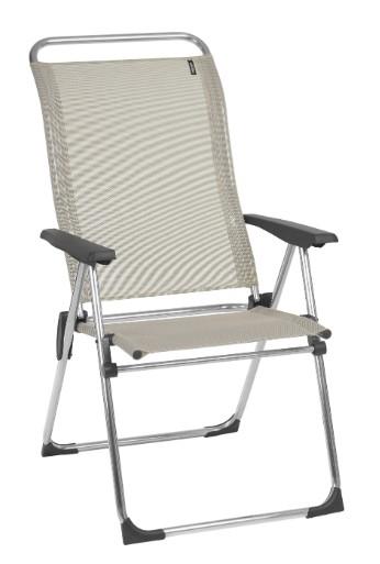 """24.8"""" X 26.4"""" X 43.7"""" Seigle Aluminum Camping Chair"""