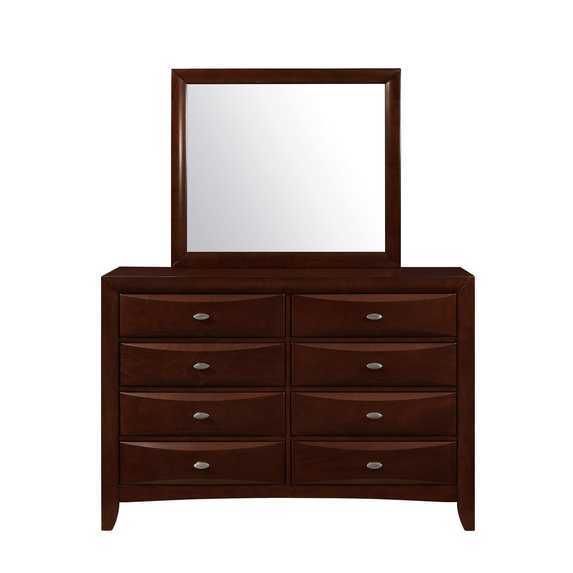 New Merlot Dresser with 5 Chambared Drawer