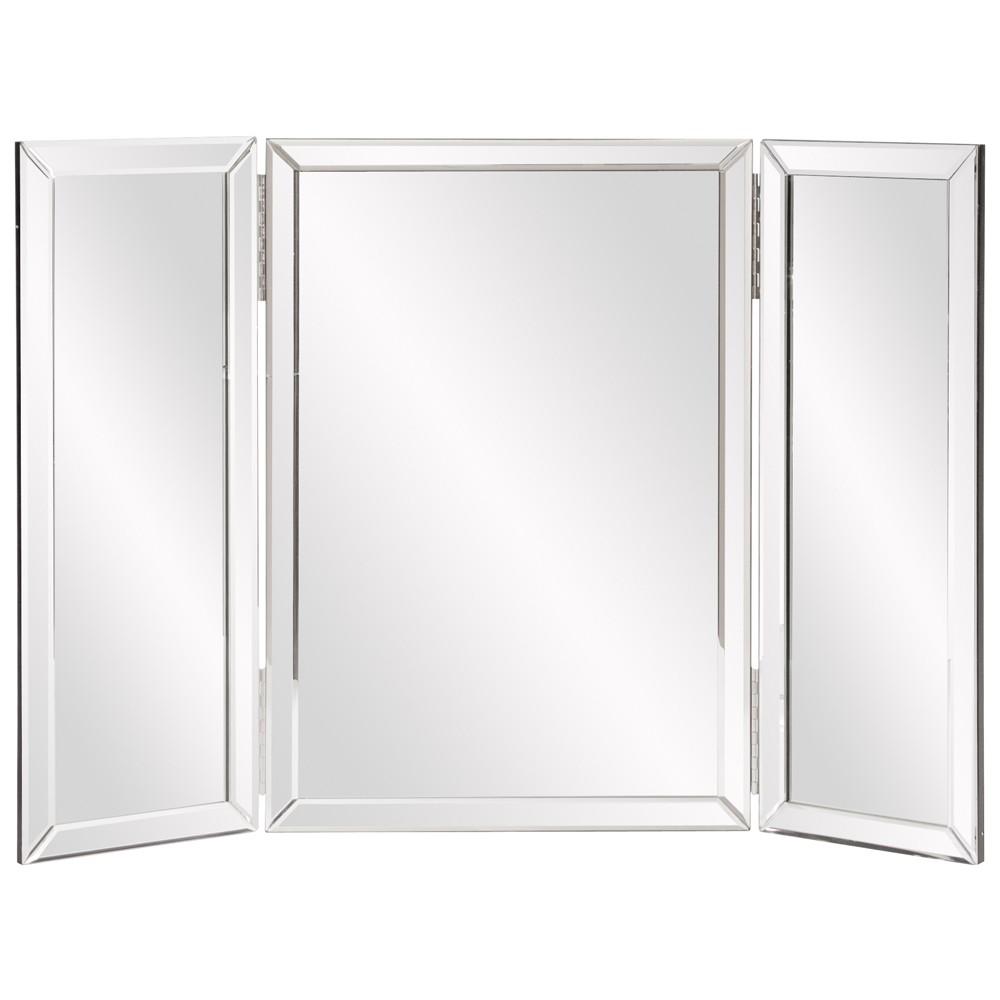 Three Part Hinged Vanity Tabletop Mirror