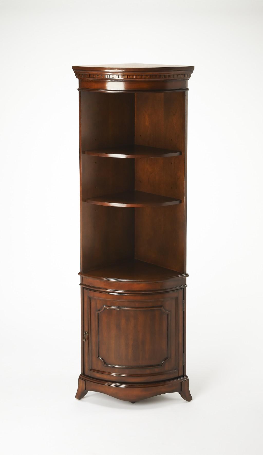 Dowling Plantation Cherry Corner Cabinet