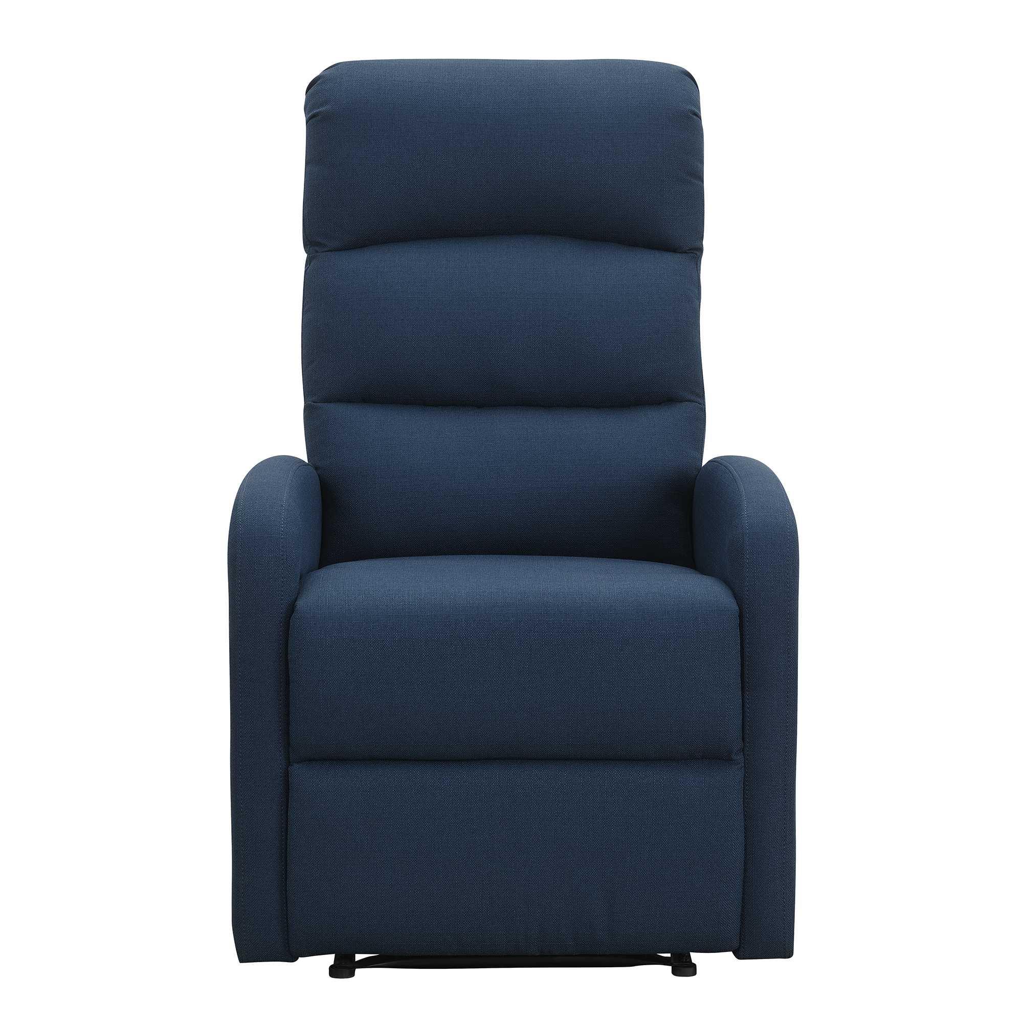 Relaxing Navy Blue Recliner Chair
