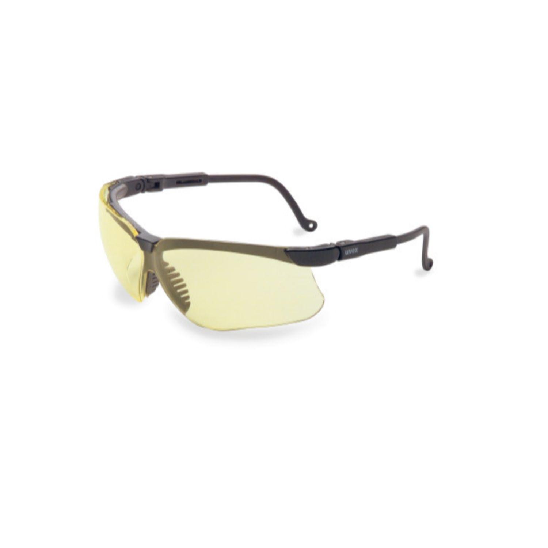 Howard Leight Genesis Black Frame Amber Lens Anti-Fog