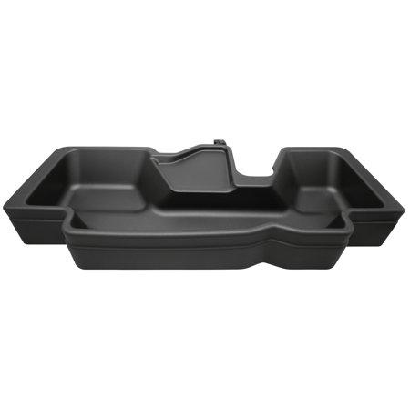 19-C RAM 1500 CREW CAB BLACK UNDER SEAT STORAGE BOX W/O FACTORY STORAGE
