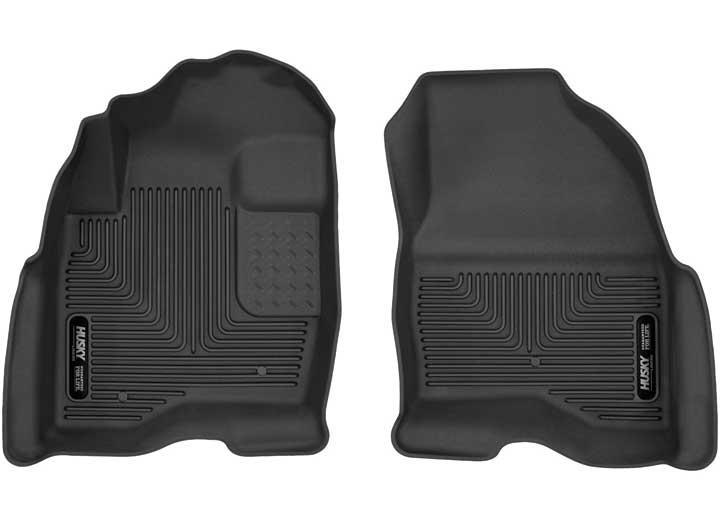 15-C EXPLORER FRONT SEAT FLOOR LINER X-ACT CONTOUR SERIES BLACK