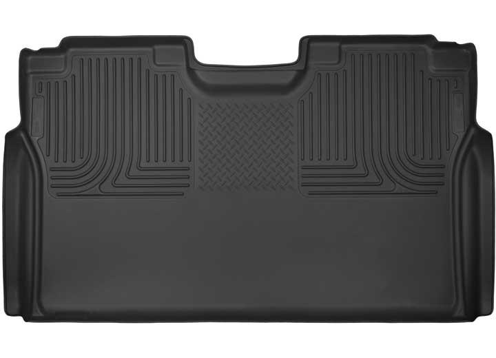 15-C F150/17-C F250/F350/F450 CREW CAB 2ND SEAT FLOOR LINER(FULL COVERAGE)X-ACT CONTOUR BLACK