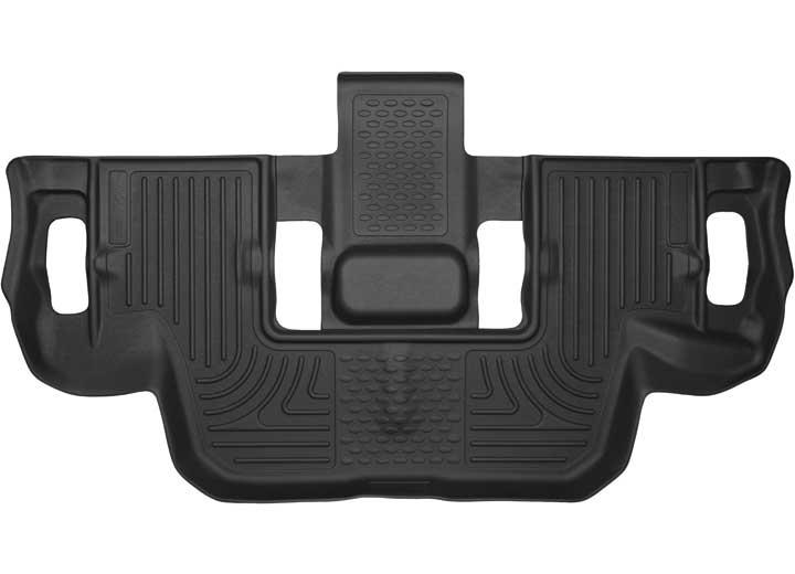 11-C EXPLORER 3RD SEAT FLOOR LINER X-ACT CONTOUR SERIES BLACK