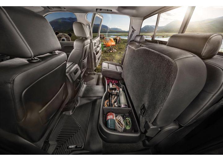 15-20 F150 SUPERCAB W/O SUBWOOFER/17-20 SUPERDUTY F250/F350 EXT CAB UNDER SEAT STORAGE BLACK