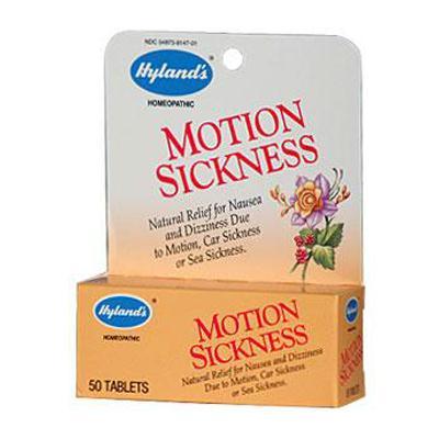 Hylands Motion Sickness Tablets (1x50 TAB)