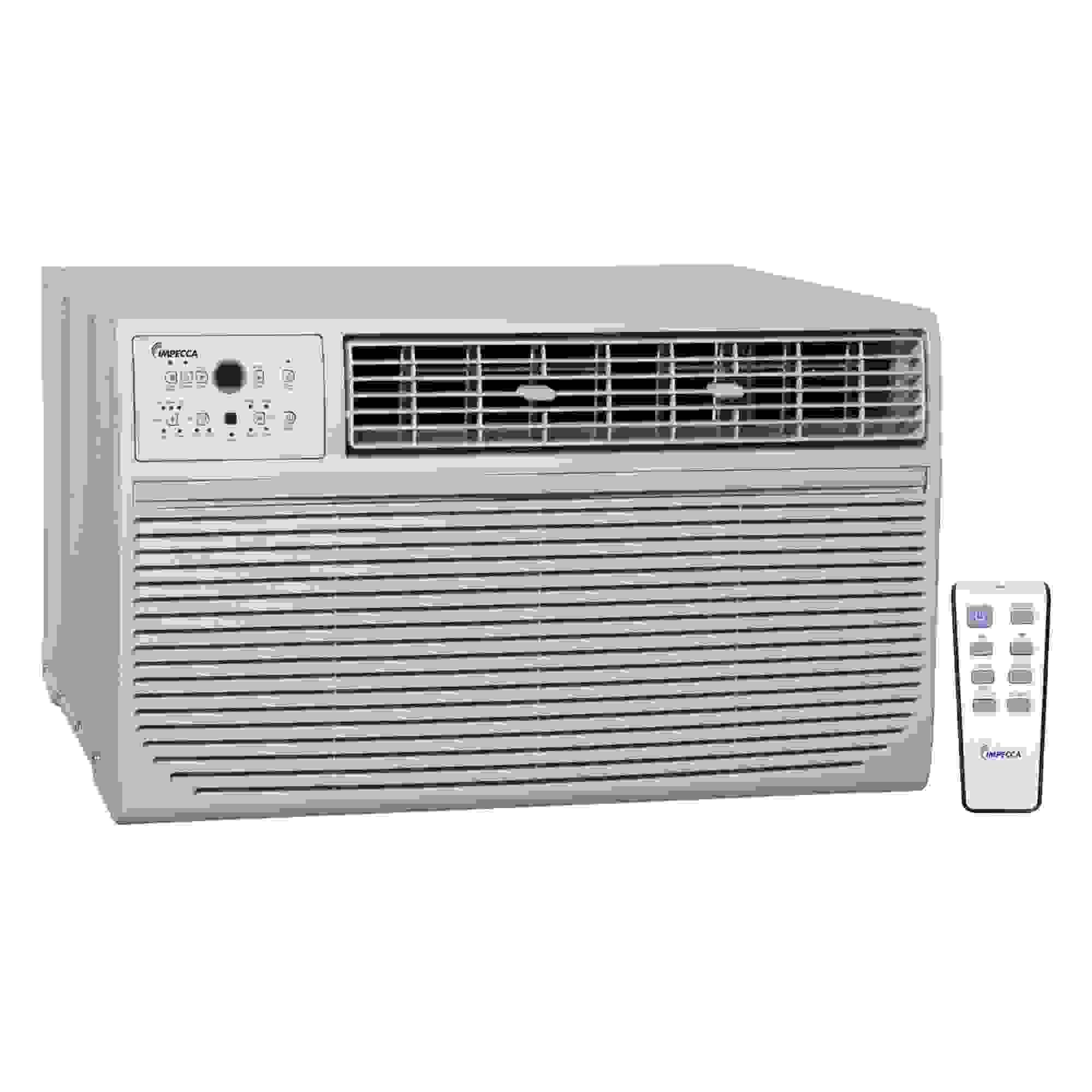 IMPECCA 10K BTU 230V TTW AC W/REMOTE E/S