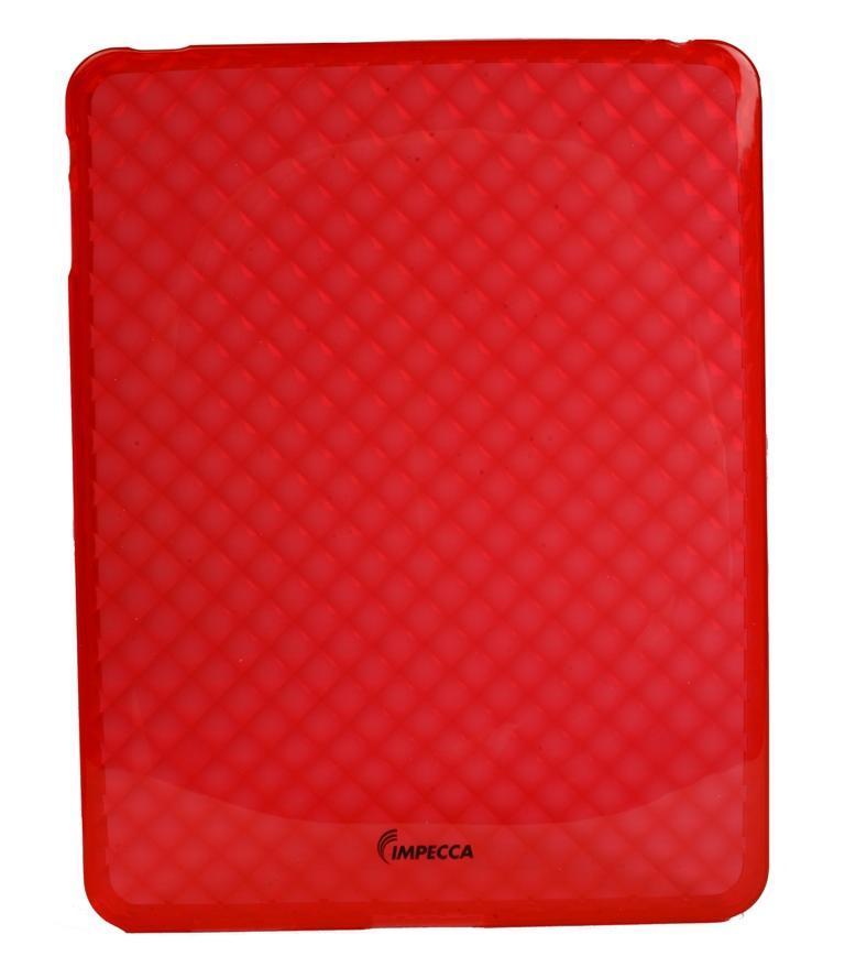IMPECCA FLEXIBLE DIAMOND BUBBLE CASE RED