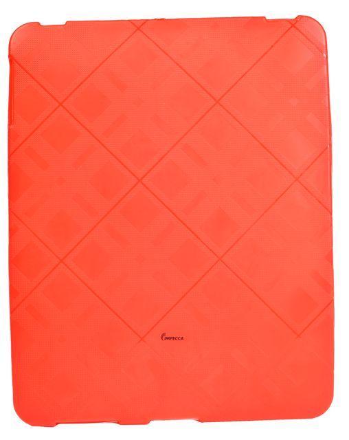 IMPECCA IPS122 FLEXIBLE PLAID CASE - RED