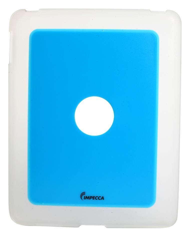 IMPECCA IPS101 FLEXI-CLEAR TPU CASE BLUE