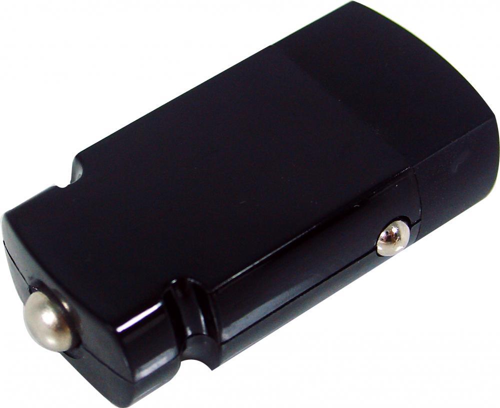 IMPECCA 5-WATT USB MINI CAR ADAPTER BLCK