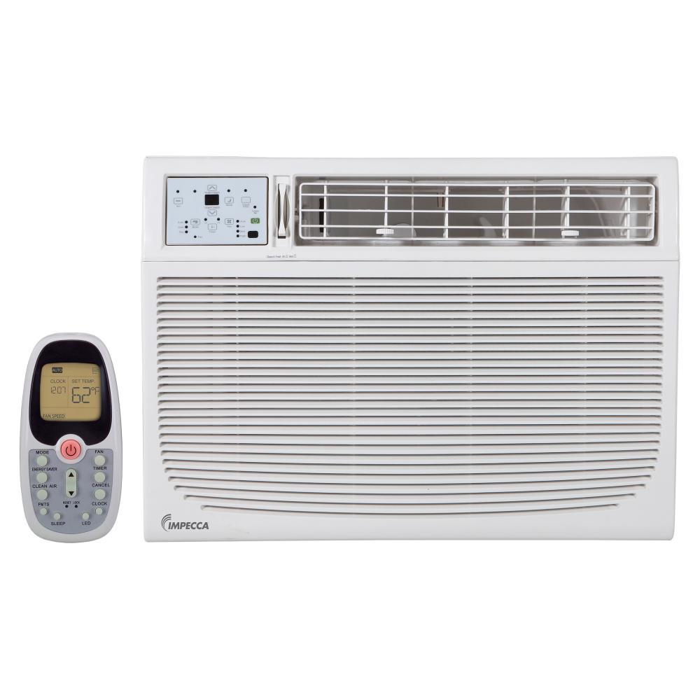 IMPECCA 15,100 BTU WINDOW AC, ELECTRONIC