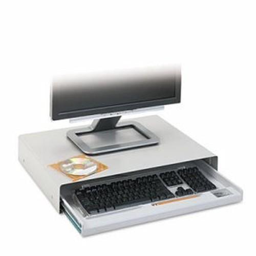 Standard Desktop Keyboard Drawer, 20-5/8w x 10d, Light Gray
