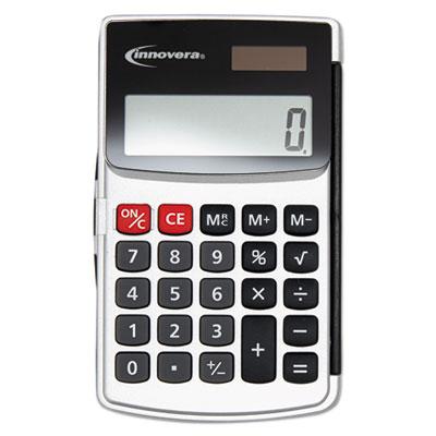 Handheld Calculator, 8-Digit LCD