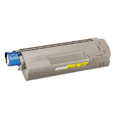 44315301,44315302,44315303, 44315304 OKI Compatible Toner, 6,000 Pg-Yld, Yellow