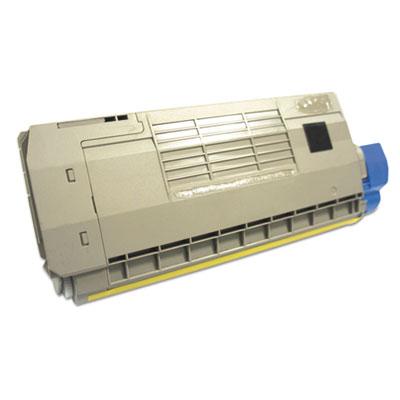 44318601, 44318602, 44318603, 44318604 OKI Compat. Toner, 11,500 Pg-Yld, Yellow
