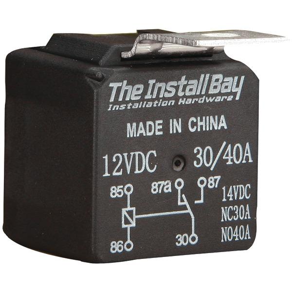 INSTALL BAY RL3040 30-Amp/40-Amp Economy Relay
