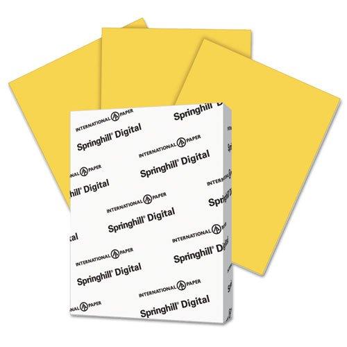 Digital Vellum Bristol Color Cover, 67 lb, 8 1/2 x 11, Goldenrod, 250 Sheets/Pk