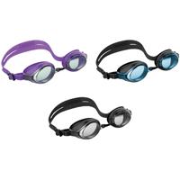 Intex Marketing 55691 Racing Swim Goggle, Silicone Frame