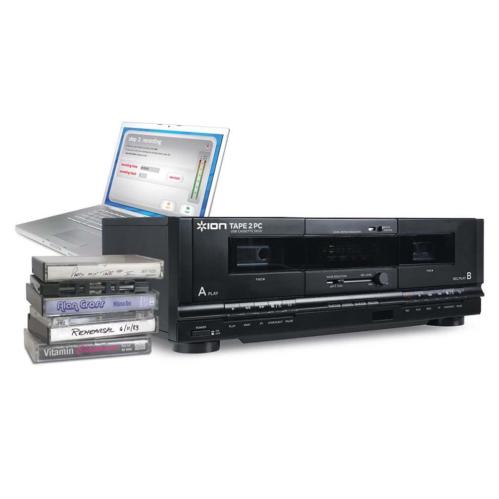 ION Tape 2 PC USB Cassette Deck Conversion System