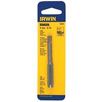 Irwin Industrial 8343 Hanson Plug Taps, High Carbon Steel, 12mm-1.50 Inch