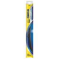 Rain-X Latitude Winter 5079283 Wiper Blade, 17 in, Steel Arm, Rubber, Graphite Coated