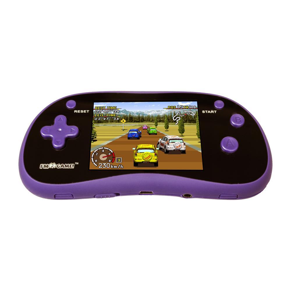 I'M GAME GP180 180-GAME CONSOLE, PURPLE