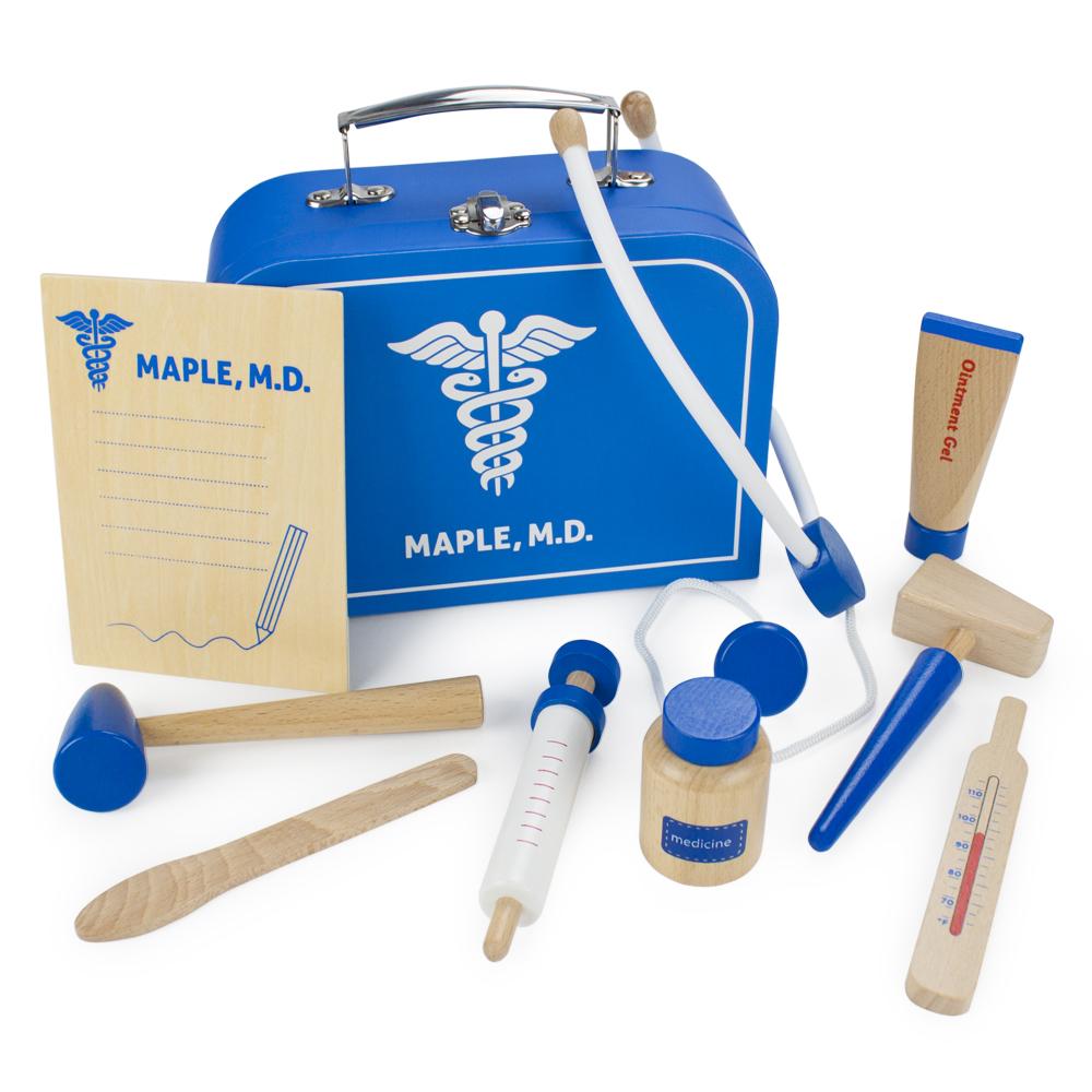 Wooden Wonders Dr. Maple's Medical Kit