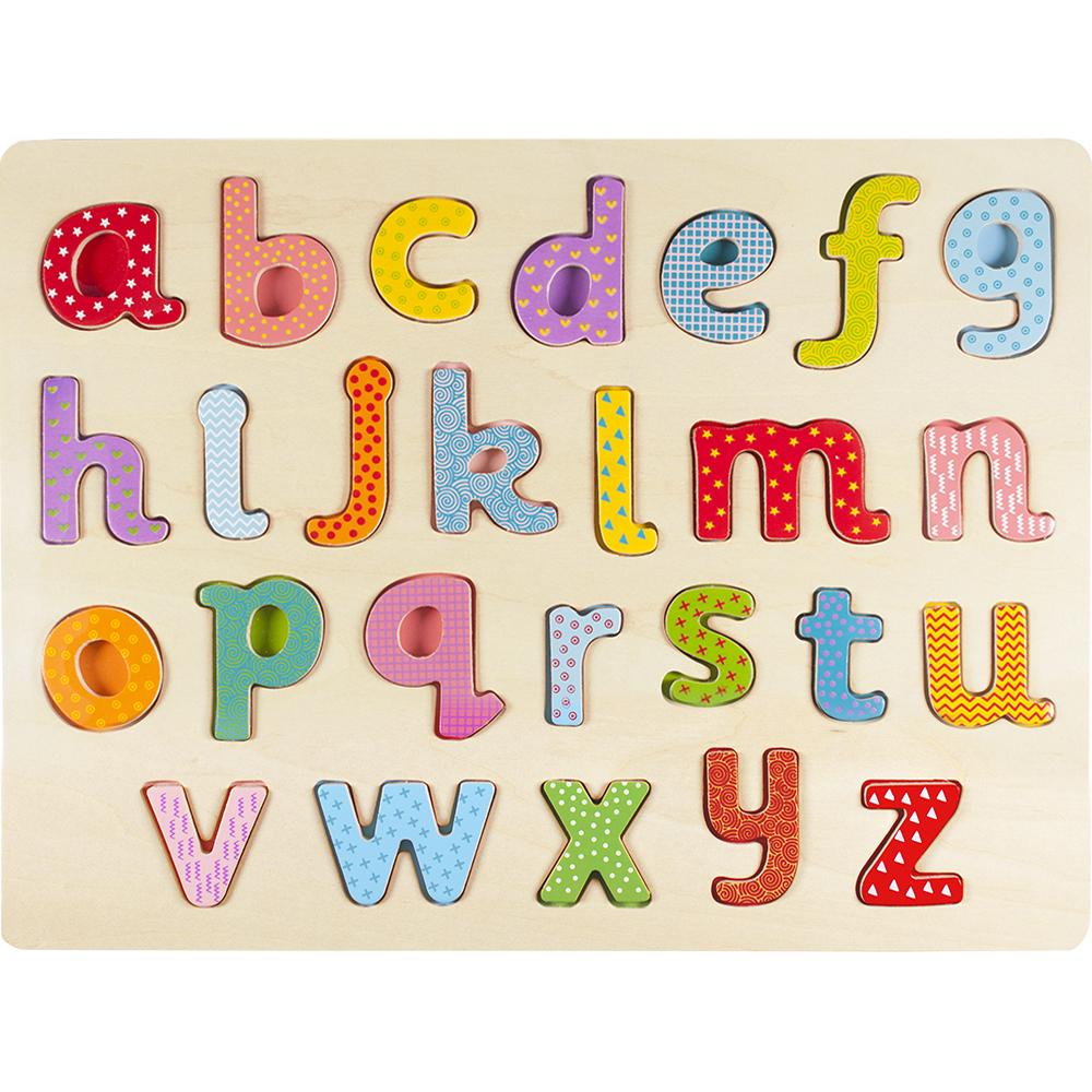 Professor Poplar Lower-case Alphabet Puzzle