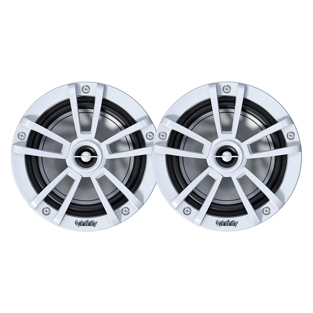 "Infinity 622MLW 6.5"" 2-Way Multi-Element Marine Speakers - White - BULK PACKAGING"