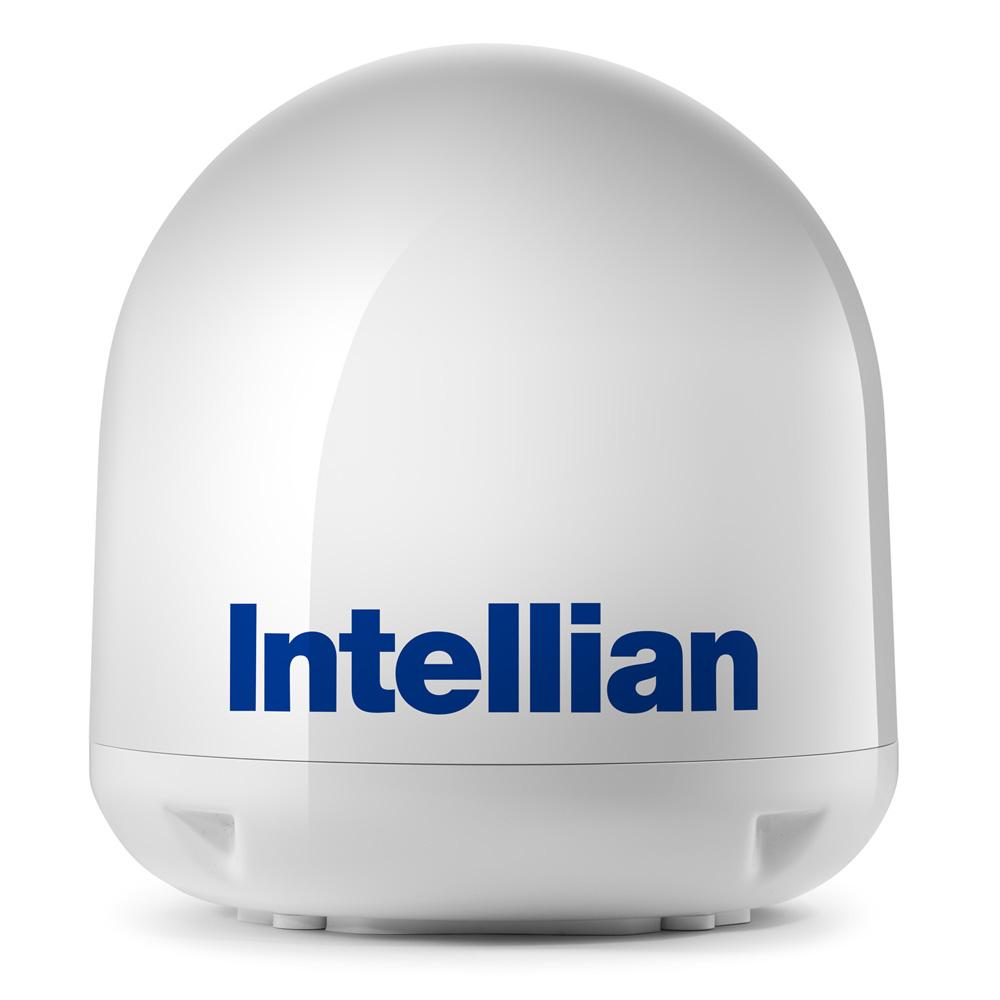 Intellian i4/i4P Empty Dome & Base Plate Assembly