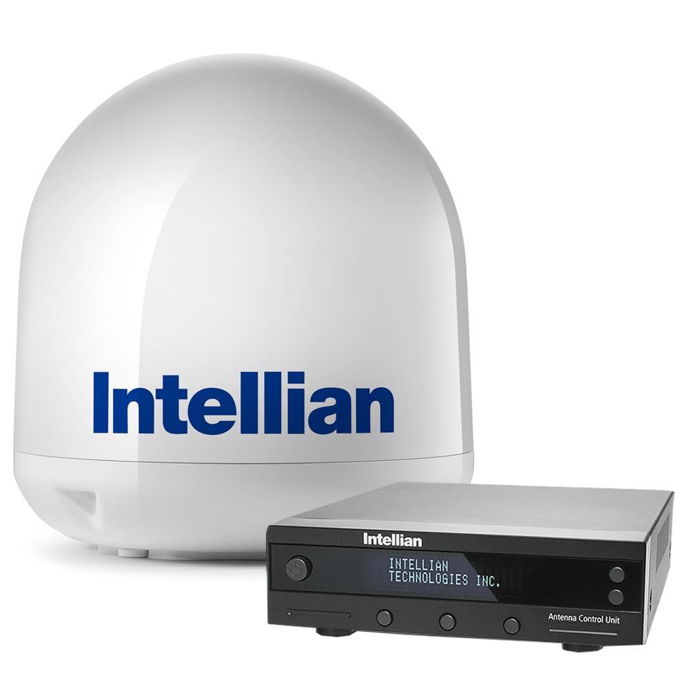 "Intellian i4P Linear System w/17.7"" Reflector & Universal Quad LNB"