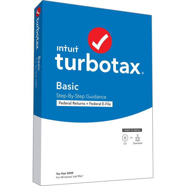 TurboTax DT Basic Fed 2020
