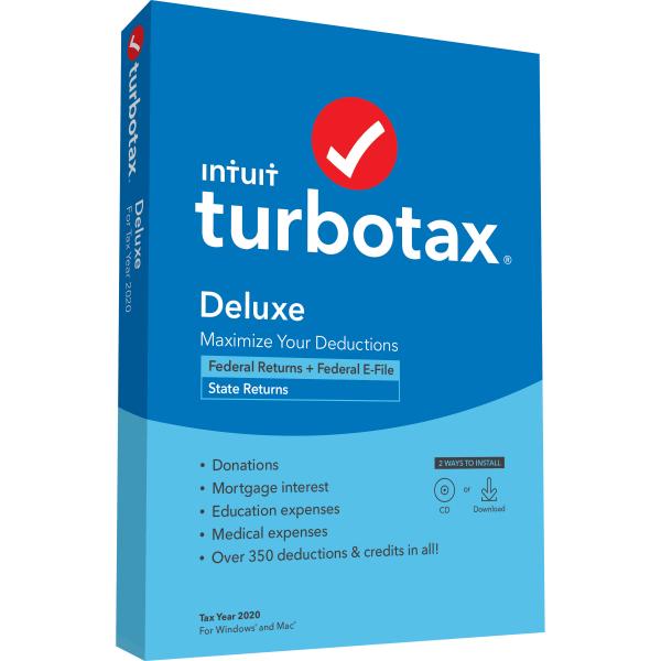 TurboTax DeluxePlus State 2020