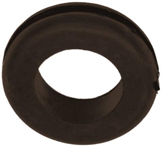 Jandorf 61487 Grommet, 1 in ID x 1-3/4 in OD x 3/8 in T, Rubber, Black