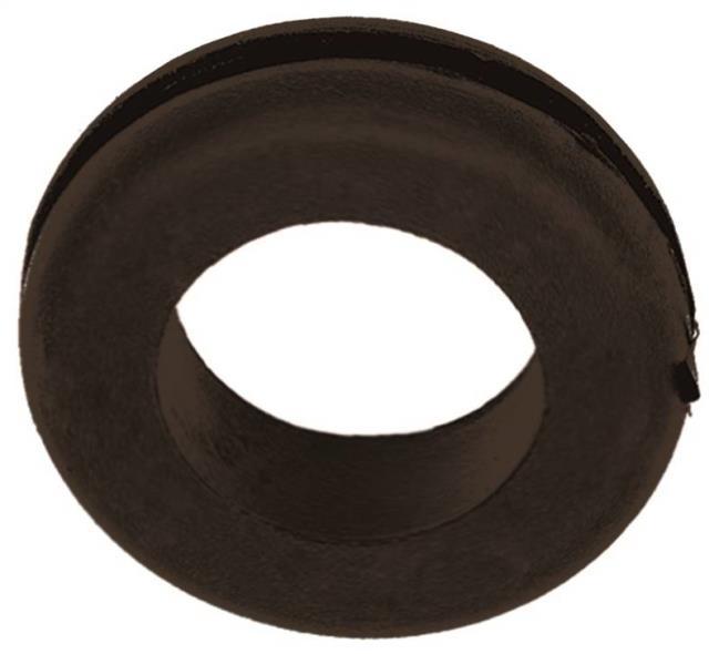 Jandorf 61488 Grommet, 1 in ID x 1-3/4 in OD x 1/2 in T, Rubber, Black