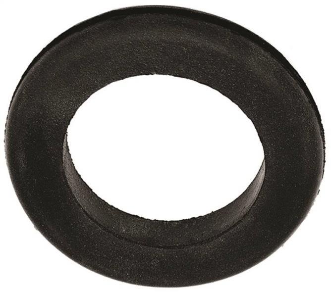Jandorf 61492 Grommet, 5/8 in ID x 1-1/8 in OD x 5/16 in T, Rubber, Black