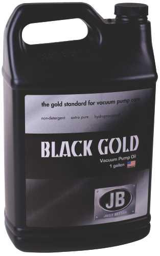 JB INDUSTRIES VACUUM PUMP OIL, BLACK GOLD, 1 GALLON