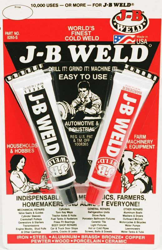 8265-S J B WELD COLD WELD