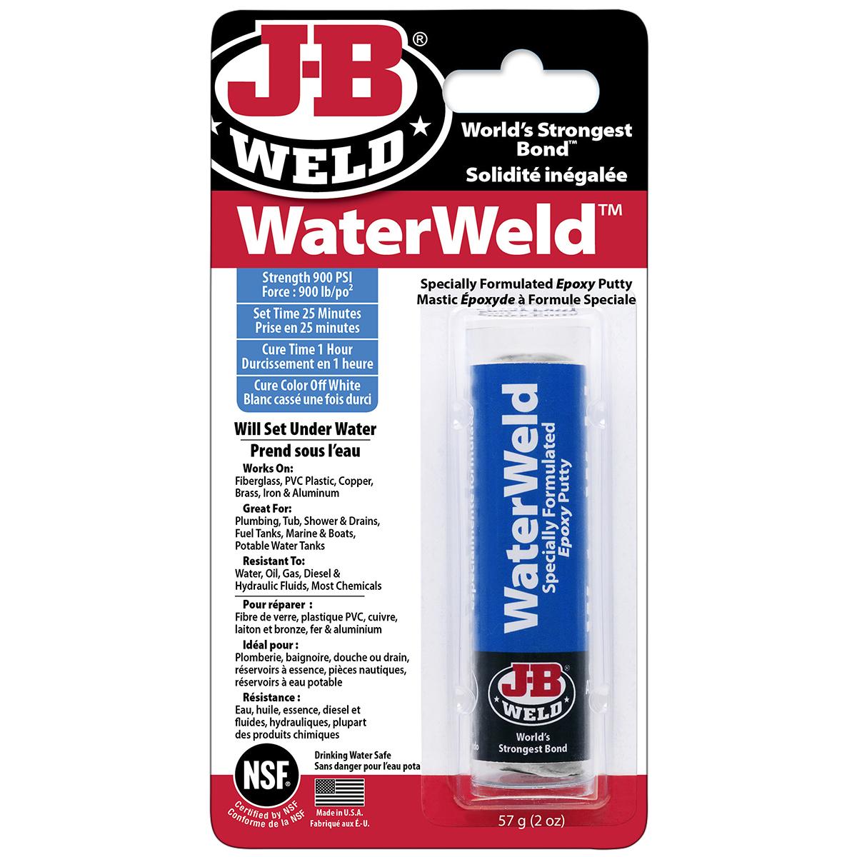 JB WATERWELD 2OZ EPOXY PUTTY