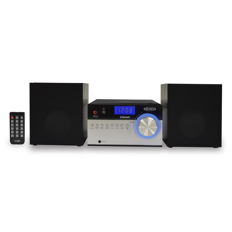 JENSEN JBS200 BLUETOOTH CD MUSIC SYSTEM WITH DIGITAL AM FM