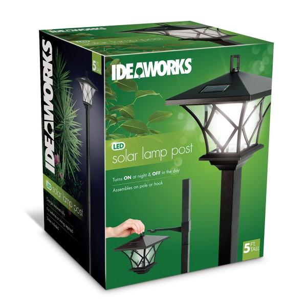 IDEAWORKS JB7424 SOLAR LED LAMP POLE