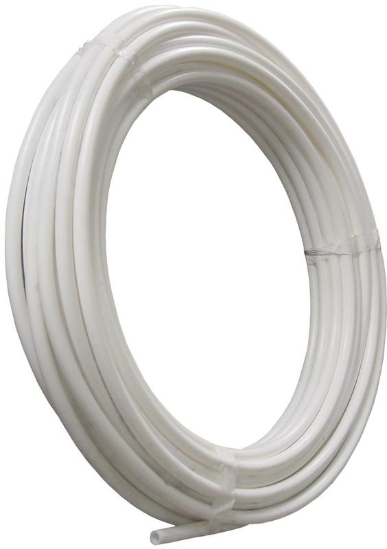 1/2 X100 PEX WHITE COIL TUBE