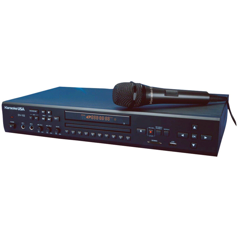 KARAOKE USA  DV102 DVD CDG MP3G KARAOKE PLAYER REMOTE CONTROL